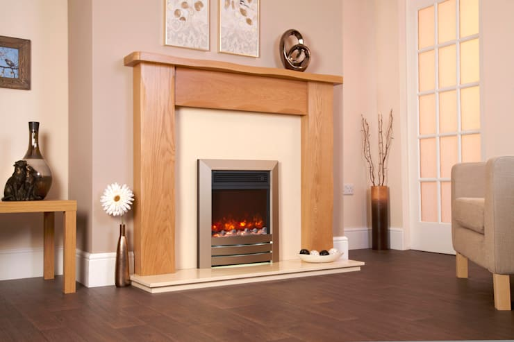 Living room تنفيذ Fiveways Fires & Stoves