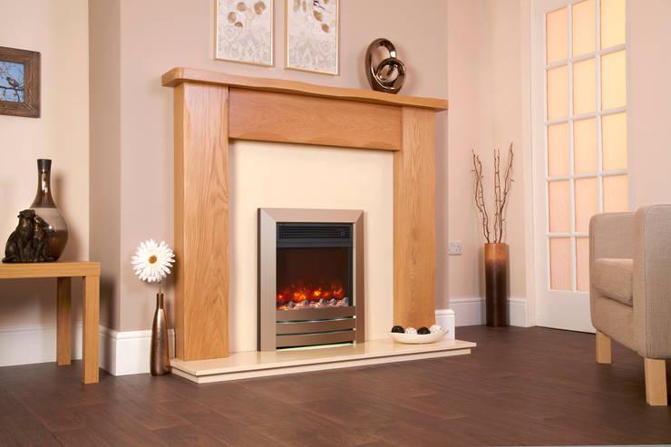 Projekty,  Salon zaprojektowane przez Fiveways Fires & Stoves