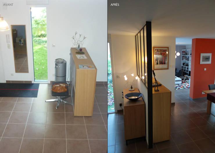 Corridor & hallway by UN AMOUR DE MAISON
