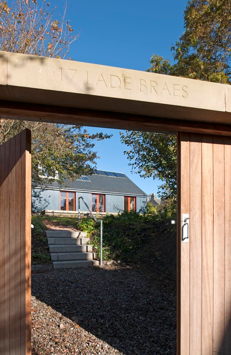 St Andrews - exterior:  Houses by ZONE Architects