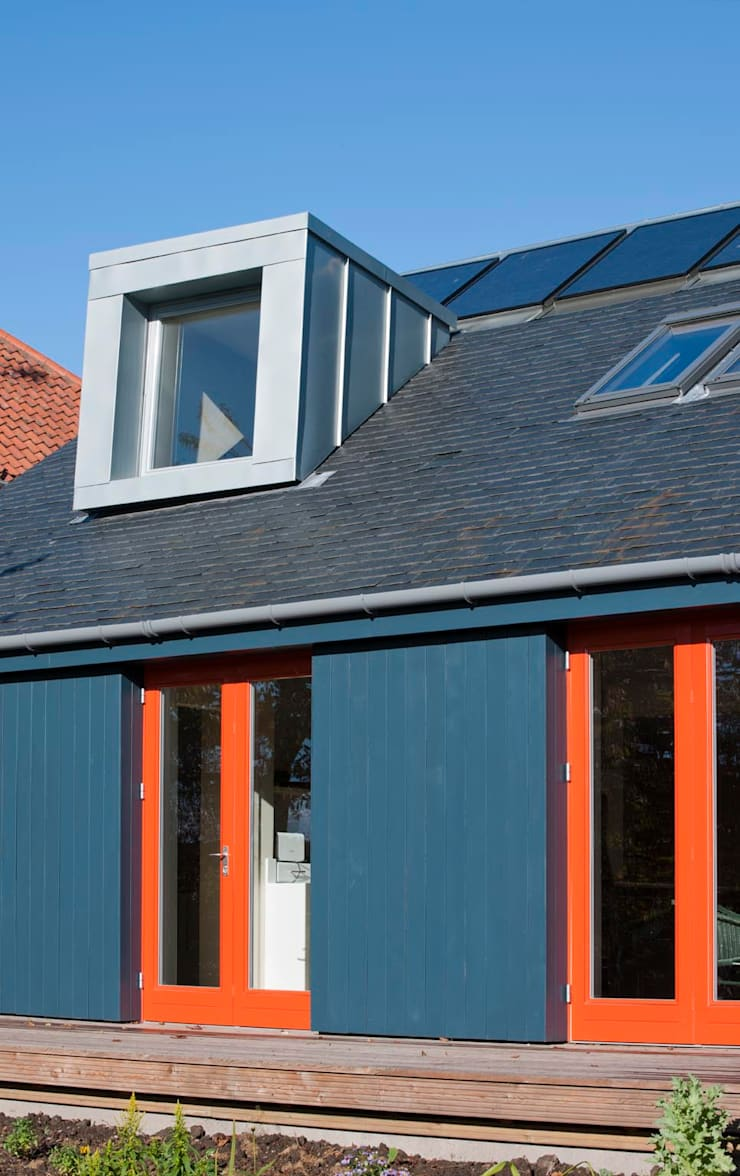 St Andrews - cladding:  Houses by ZONE Architects