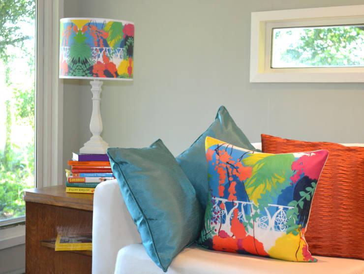 غرفة المعيشة تنفيذ Blooming Bryony Designs