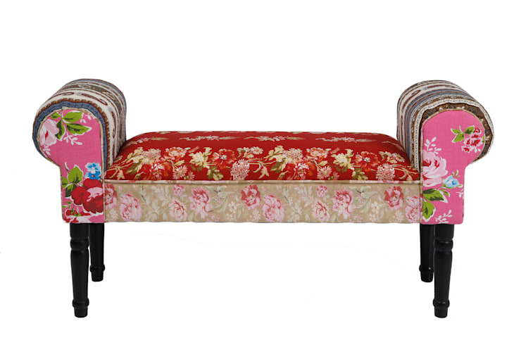 Romany Loveseat :  Living room by The French Bedroom Company