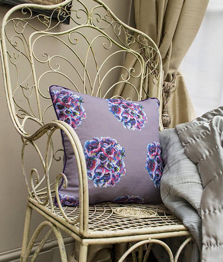 English Garden Cushion:  Bedroom by Occipinti