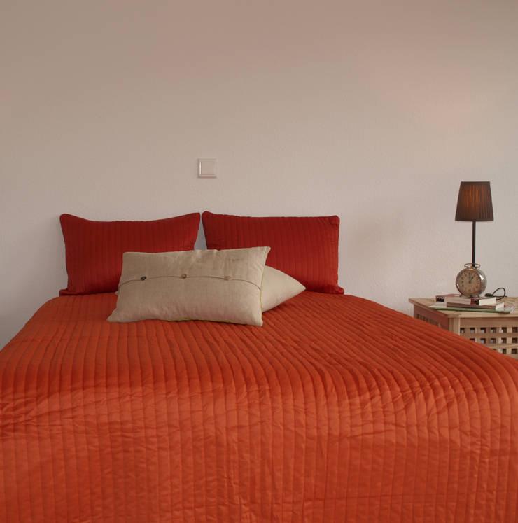 Exclusives Einfamilienhaus in Geisweid:  Schlafzimmer von Raumpraesenz-Homestaging