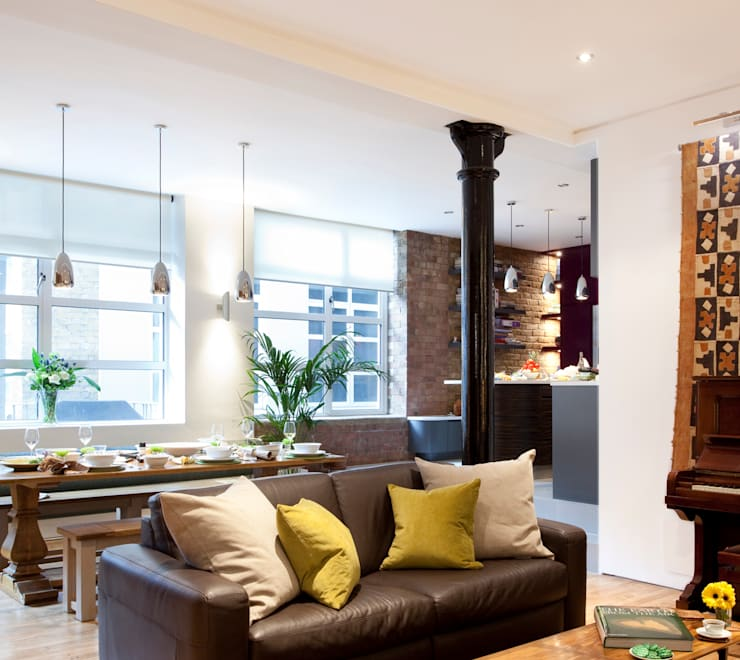 Old Street N1: Victorian Mill conversion:  Houses by Increation