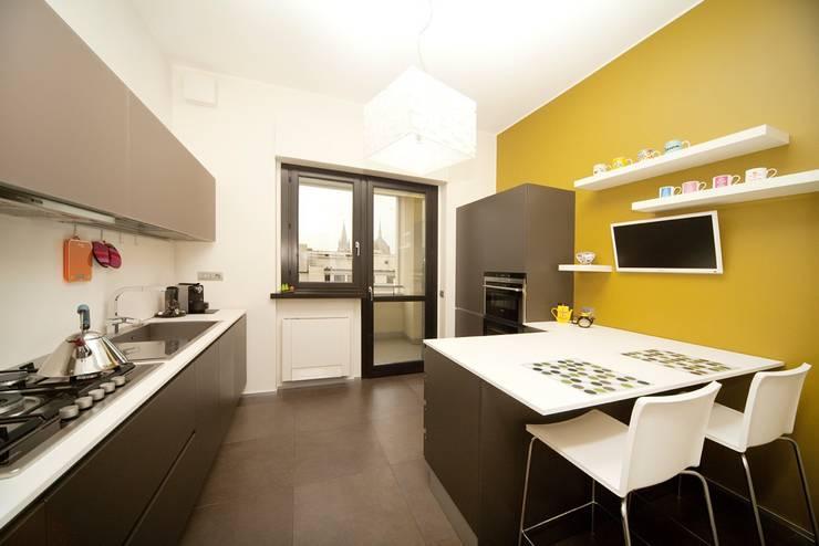 MNA Studio | Macchi Nicastri Architetti:  tarz Mutfak