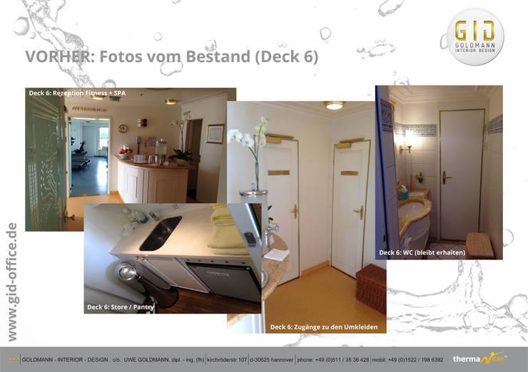 Vorher:  Hotels von GID│GOLDMANN-INTERIOR-DESIGN - Innenarchitekt in Sehnde,Klassisch