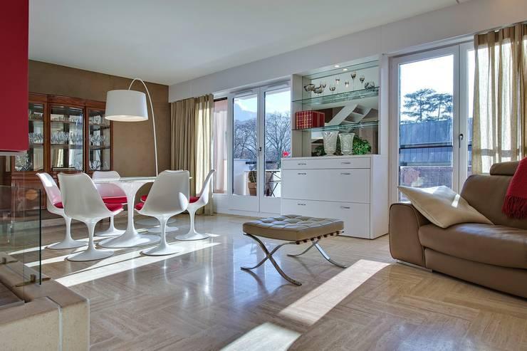 Appartement G: Salle à manger de style de style Moderne par Atelier Rémy Giffon