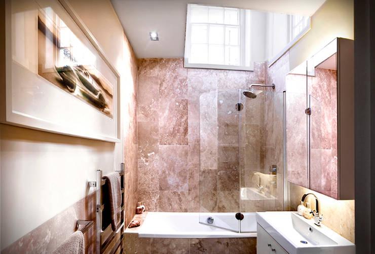 St James Apartment:  Bathroom by Eliska Design Associates Ltd.