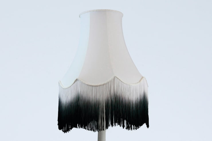 Boutique Lamps by Belle & Videre:  Living room by Lime Lace Eclectic Interiors