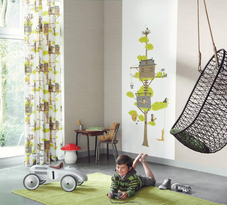 Quartos de criança ecléticos por Fantasyroom-Wohnträume für Kinder