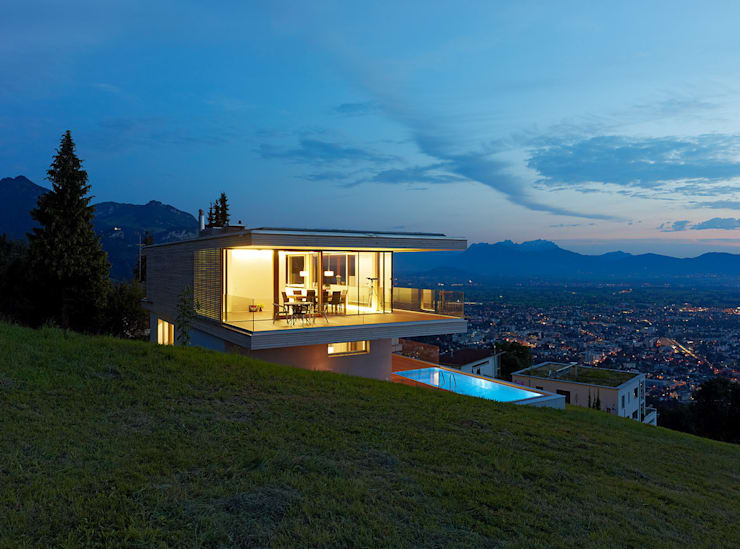 Projekty,  Domy zaprojektowane przez Dietrich | Untertrifaller Architekten ZT GmbH