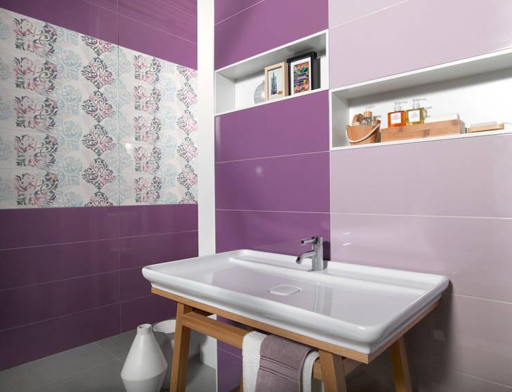 Paredes y pisos de estilo  por Porcelanite Dos