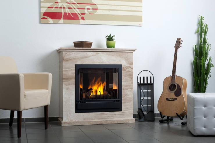 classic Living room by Kaminstudio Klaus Ehrlicher