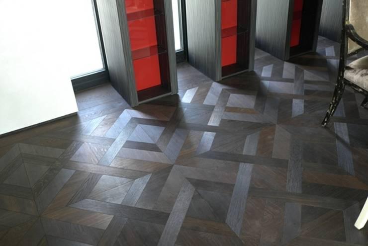 Retro Tafel Parkett:  Wände & Boden von woodboxx | Thomas Maile