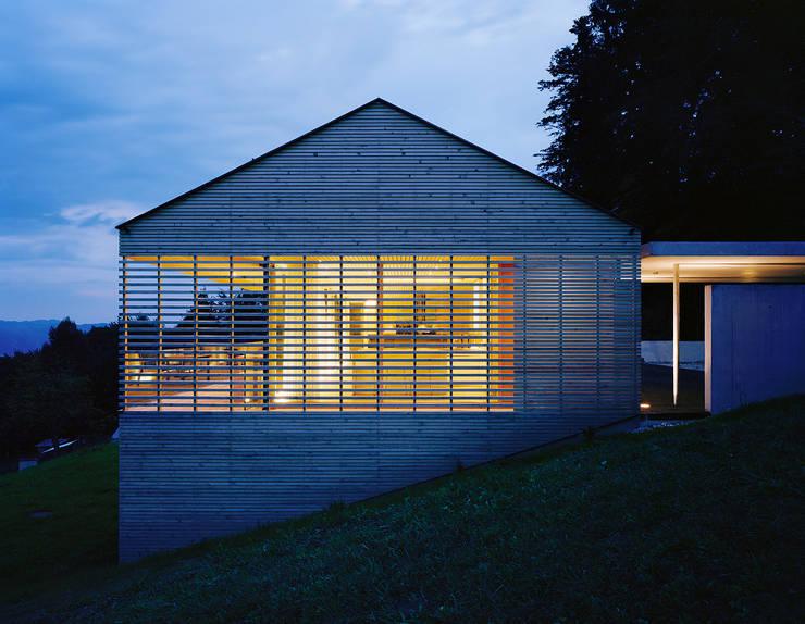 Casas de estilo moderno por Dietrich | Untertrifaller Architekten ZT GmbH