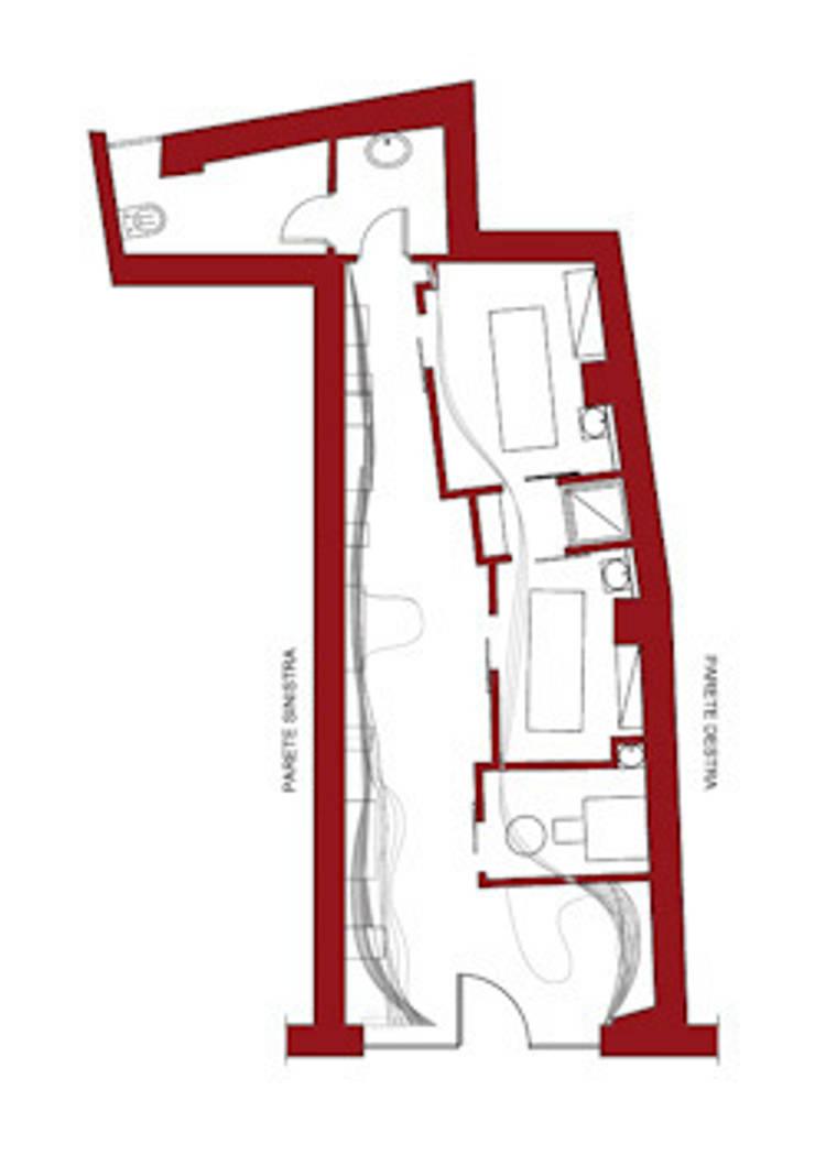 Maryrosemary: Negozi & Locali commerciali in stile  di Studio Romoli Architetti