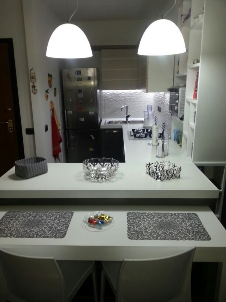 mii appartamento: Cucina in stile  di linea contemporanea  home