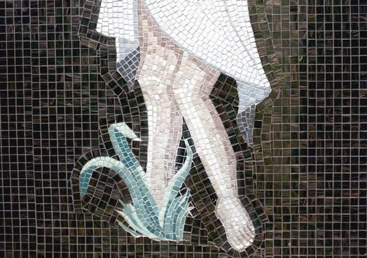 Douche à l'italienne: Salle de bains de style  par Opus décor