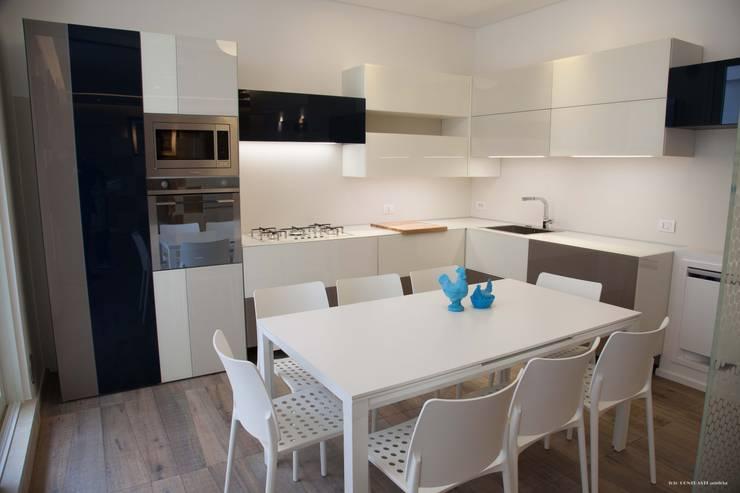 Kitchen by G/G associati studio di ingegneria e architettura _ing.r.guglielmi_arch.a.grossi