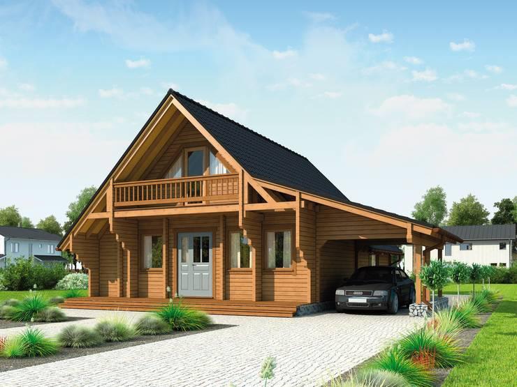 ferienhaus norwegen por thule blockhaus gmbh homify. Black Bedroom Furniture Sets. Home Design Ideas