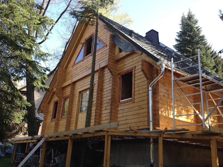 scandinavian Houses by THULE Blockhaus GmbH