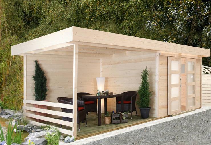 Jardines de estilo  por Gartenhaus2000 GmbH