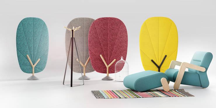 TREE screen: styl , w kategorii Salon zaprojektowany przez Redo Design Studio Radosław Nowakowski