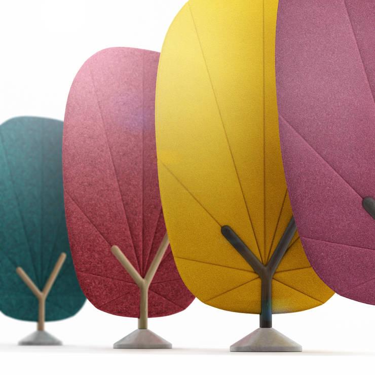 TREE screen: styl , w kategorii Domowe biuro i gabinet zaprojektowany przez Redo Design Studio Radosław Nowakowski