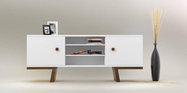 TAO sideboards: styl , w kategorii Jadalnia zaprojektowany przez Redo Design Studio Radosław Nowakowski,