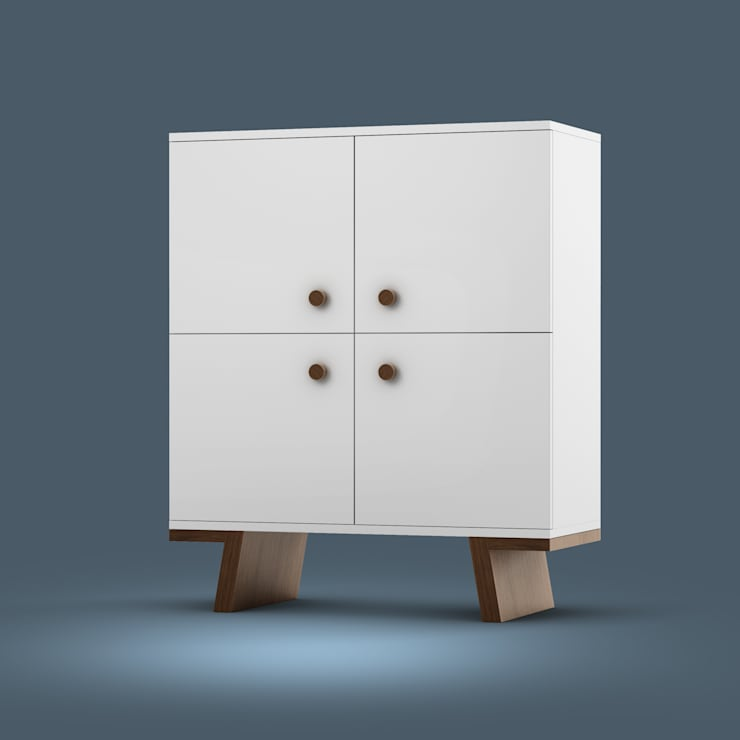 TAO cabinet: styl , w kategorii Korytarz, hol i schody zaprojektowany przez Redo Design Studio Radosław Nowakowski,