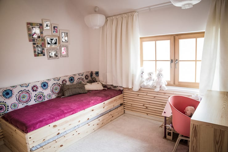 Pokój dla dziewczynki : styl , w kategorii Pokój dziecięcy zaprojektowany przez grupa KMK sp. z o.o