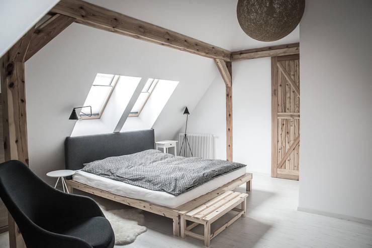 Sypialnia : styl , w kategorii Sypialnia zaprojektowany przez grupa KMK sp. z o.o