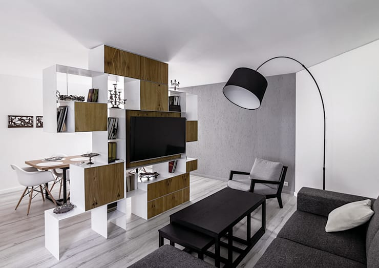 Living room by grupa KMK sp. z o.o