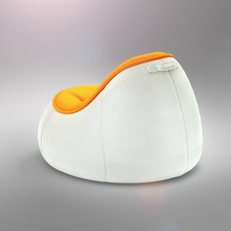PUFFI armchair: styl , w kategorii Salon zaprojektowany przez Redo Design Studio Radosław Nowakowski
