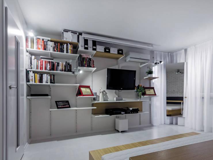 Sypialnia, Zabrze: styl , w kategorii Sypialnia zaprojektowany przez grupa KMK sp. z o.o,Nowoczesny