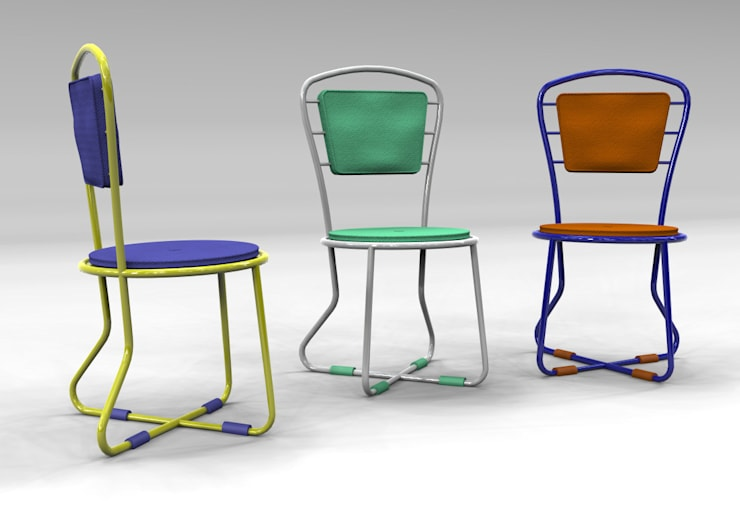 LInosa Chair: Giardino in stile  di Giovanni Cardinale Designer