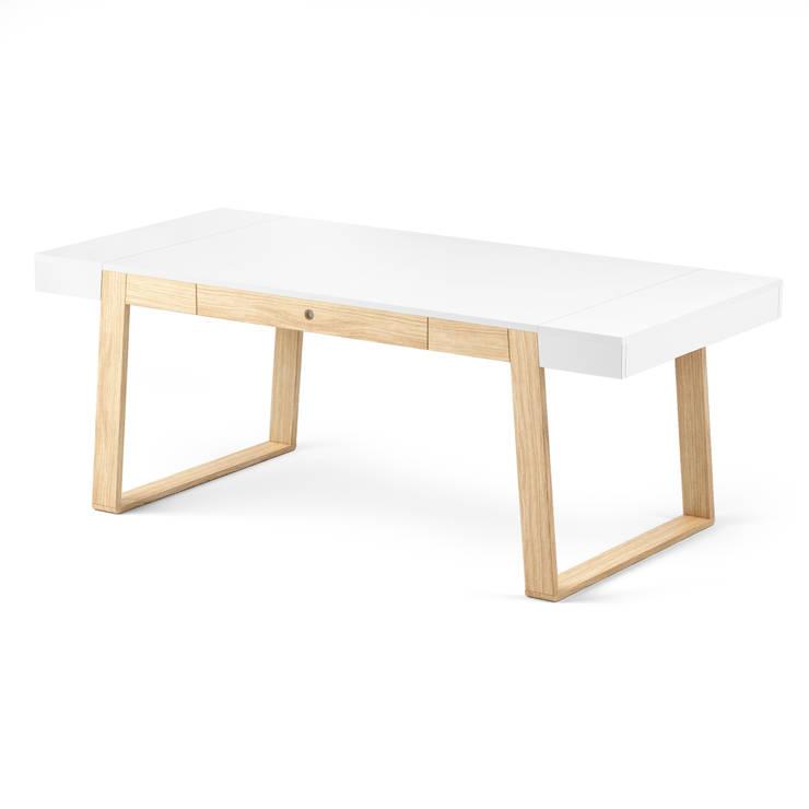 MAGH table 200: styl , w kategorii  zaprojektowany przez Redo Design Studio Radosław Nowakowski,Skandynawski
