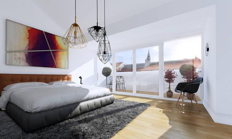 Camera da letto in stile  di loomilux