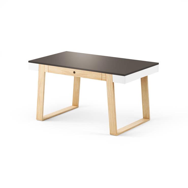 MAGH table 140: styl , w kategorii  zaprojektowany przez Redo Design Studio Radosław Nowakowski,Skandynawski