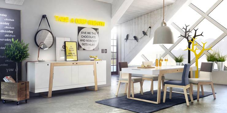 MAGH set: styl , w kategorii  zaprojektowany przez Redo Design Studio Radosław Nowakowski,Skandynawski