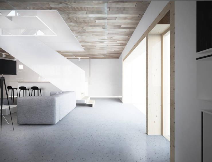 Salon: styl , w kategorii Salon zaprojektowany przez grupa KMK sp. z o.o