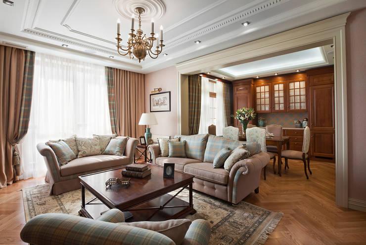 Территория комфорта: Гостиная в . Автор – VVDesign