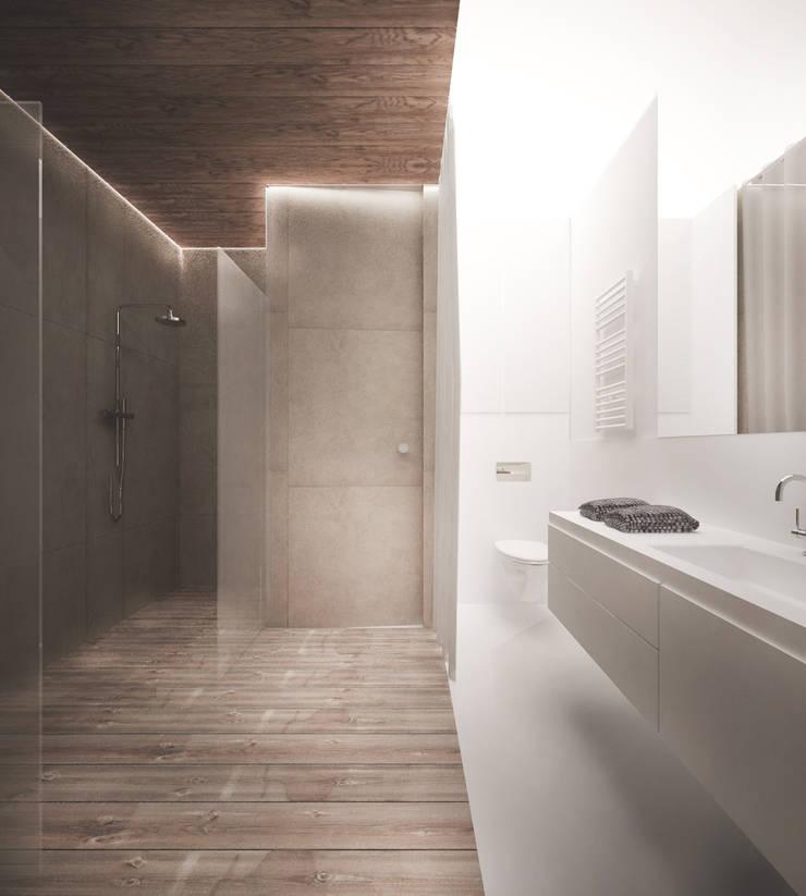 Łazienka: styl , w kategorii Łazienka zaprojektowany przez grupa KMK sp. z o.o