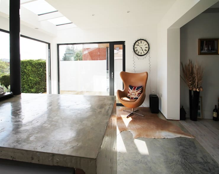 The Cube:  Kitchen by Adam Knibb Architects