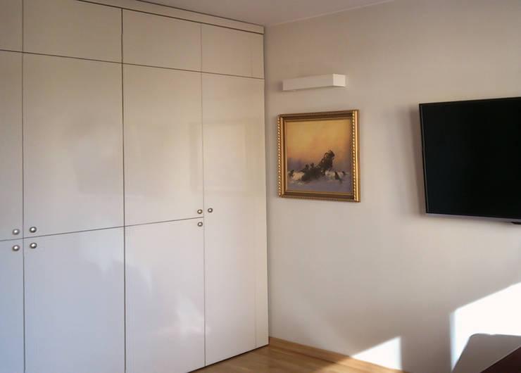 Mieszkanie prywatne Sosnowiec: styl , w kategorii Salon zaprojektowany przez Projektowanie Wnętrz Agnieszka Noworzyń,