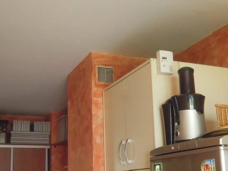 Kuchnia – mieszkanie prywatne Katowice: styl , w kategorii  zaprojektowany przez Projektowanie Wnętrz Agnieszka Noworzyń