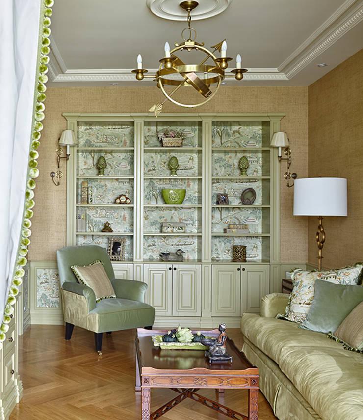 Мечта аристократа: Гостиная в . Автор – VVDesign,