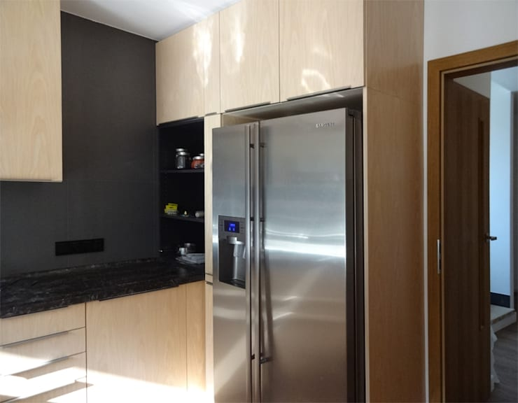 Dom jednorodzinny - Bremen: styl , w kategorii Kuchnia zaprojektowany przez Projektowanie Wnętrz Agnieszka Noworzyń,Nowoczesny